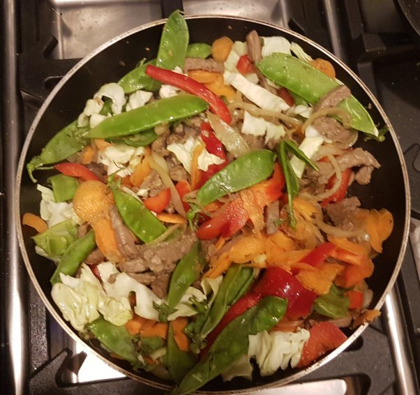 Stir-fry, beef, Paleo and primal, Wholefood
