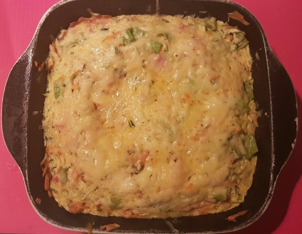 Veggie slice, paleo, primal, breakfast, Wholefood