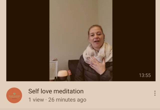 Self love meditation for emotional eating